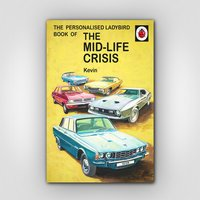 For Him: Personalised Mid-Life Crisis Book - Menkind Gifts