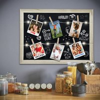 Light Up Photo Clip Chalkboard - Gadgets Gifts