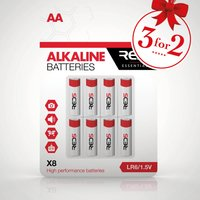 RED5 AA Batteries 8 Pack - Red5 Gifts