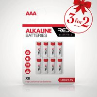 RED5 AAA Batteries 8 Pack - Red5 Gifts