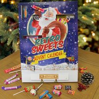 Personalised Retro Sweets Advent Calendar - Retro Sweets Gifts