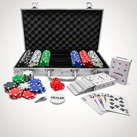 300-Piece Poker Set in Carry Case - Poker Gifts