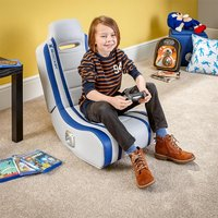 X Rocker Shadow Audio Gaming Chair - Blue - Computer Games Gifts