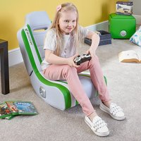 X Rocker Shadow Audio Gaming Chair - Green - Gaming Chair Gifts