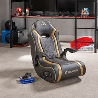 X Rocker PlayStation Gold 2.1 Audio Gaming Chair - Gaming Chair Gifts