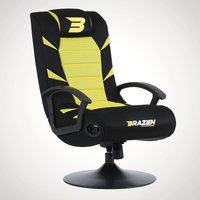 BraZen Pride 2.1 Gaming Chair - Yellow - Gaming Chair Gifts