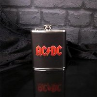 AC/DC Logo Hip Flask - Acdc Gifts