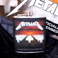 Metallica Master of Puppets Hipflask - Metallica Gifts