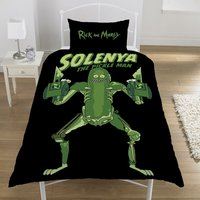 Rick and Morty Pickle Rick Bedding - Single - Bedding Gifts