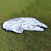 Star Wars Millennium Falcon Picnic Rug - Picnic Gifts