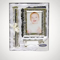 Christening Certificate Holder and Photo Album - Christening Gifts