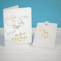 Disney Dumbo My First Passport Cover and Luggage Tag - Passport Gifts