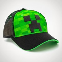 Minecraft Creeper Snapback Trucker Cap - Minecraft Gifts