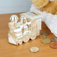 Personalised Train Money Box - Money Gifts