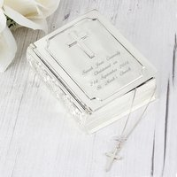 Personalised Bible Trinket Box - Bible Gifts