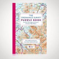 The Ordnance Survey Puzzle Book - Geography Gifts