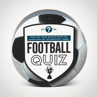 Small Football Quiz - Football Gifts