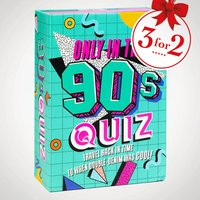 Only in the 90s Quiz - Quiz Gifts