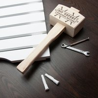 DIY 'Expert' Personalised Wooden Mallet - Diy Gifts