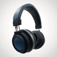 Bluetooth Padded Headphones - Blue - Electronics Gifts