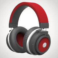 Bluetooth Folding Headphones - Red - Headphones Gifts