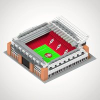 Liverpool FC Football Stadium 3D Construction Kit - Liverpool Fc Gifts