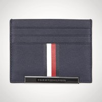 Tommy Hilfiger Corp Stripe CC Holder Black - Tommy Hilfiger Gifts