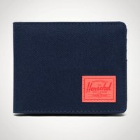 Herschel RFID Roy Coin Peacoat & Hot Coral - Coral Gifts