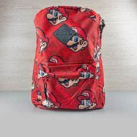 Nintendo Super Mario All-Over Print Backpack - Computer Games Gifts