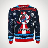 Spiderman Xmas Jumper M
