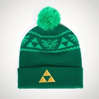 Zelda Triforce Knitted Beanie - Knitted Gifts