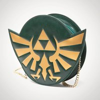 Zelda Hyrule Crest Chain Ladies Purse - Purse Gifts