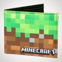 Minecraft Dirt Block Wallet - Minecraft Gifts