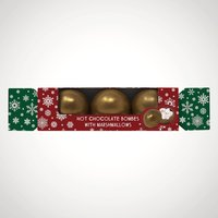 Cocoba Hot Chocolate Bombe Cracker - Menkind Gifts