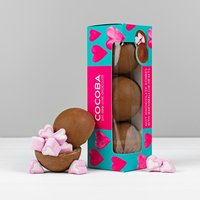 Cocoba Hearts Hot Chocolate Bombes Box - Hot Chocolate Gifts