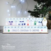 Personalised Make Your Own The Snowman Advent Countdown Kit