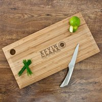 Personalised Chef of the Year Chopping Board - Chef Gifts