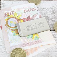 Personalised Classic Money Clip - Money Gifts