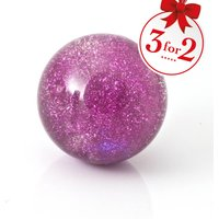 Crystal Bouncy Ball Flashing Stardust - Bouncy Gifts