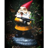 Angry Gnome Garden Ornament - Ornament Gifts