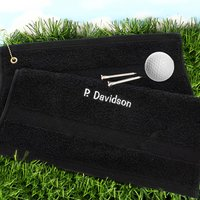 Personalised Golf Towel - Golf Gifts