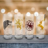 Game of Thrones Four House Shot Glasses - Shot Glasses Gifts
