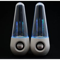 Lightshow Speakers White - Gadgets Gifts