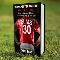 Personalised Manchester United On This Day Book - Manchester United Gifts