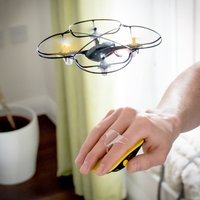 Yellow Motion Control Drone - Drone Gifts
