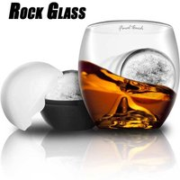 On the Rocks Glass & Ice Ball Mould Gift Set - Holidays Gifts