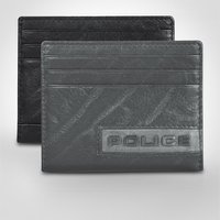 Police Droid Leather Credit Card Case - Police Gifts
