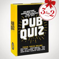Pub Quiz Trivia Game - Quiz Gifts