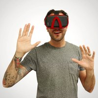 Vizor 3D Virtual Reality Glasses - Red - Gadgets Gifts