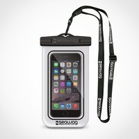 Seawag Waterproof Phone Case – White and Black - Gadgets Gifts